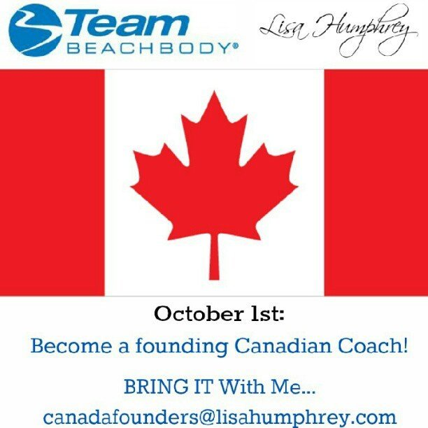 Team Beachbody Opportunity Opens in Canada